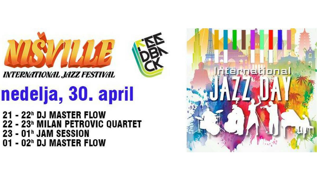International Jazz Day - Nišville Jazz Festival