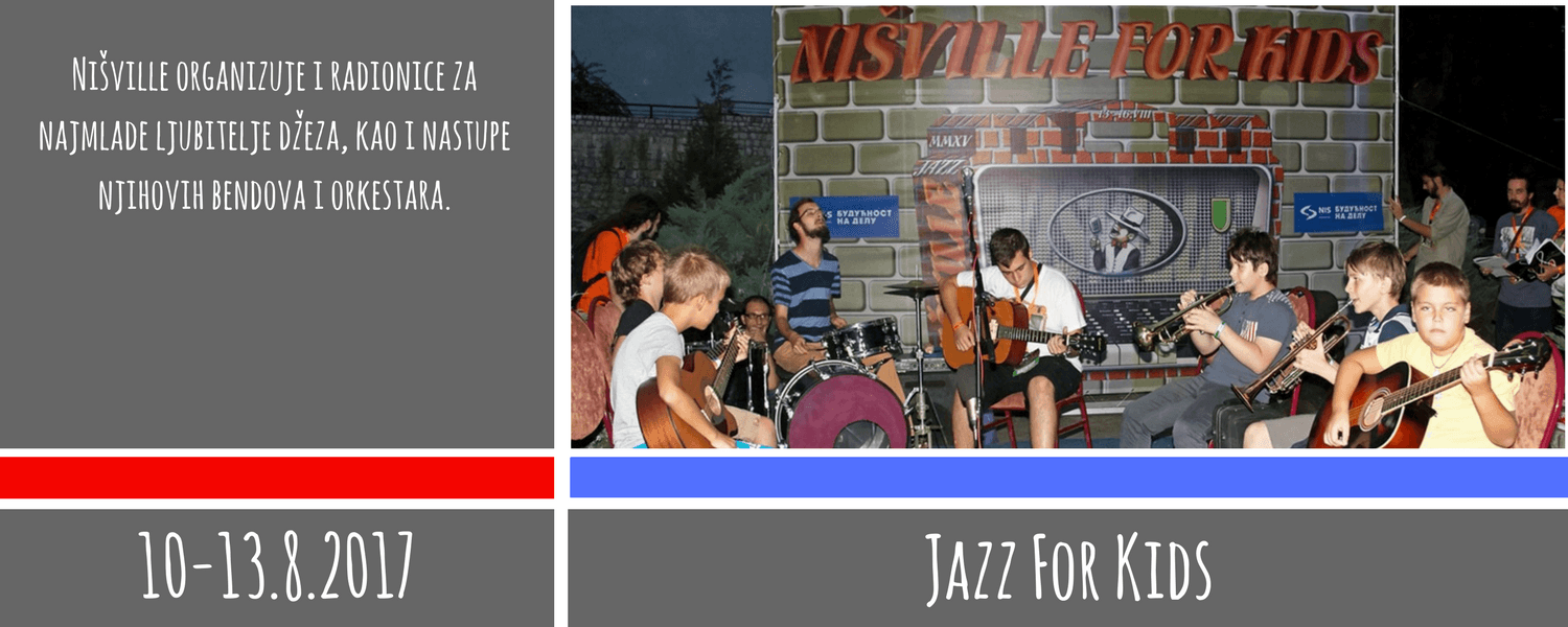 Jazz For Kids - Nišville Jazz Festival