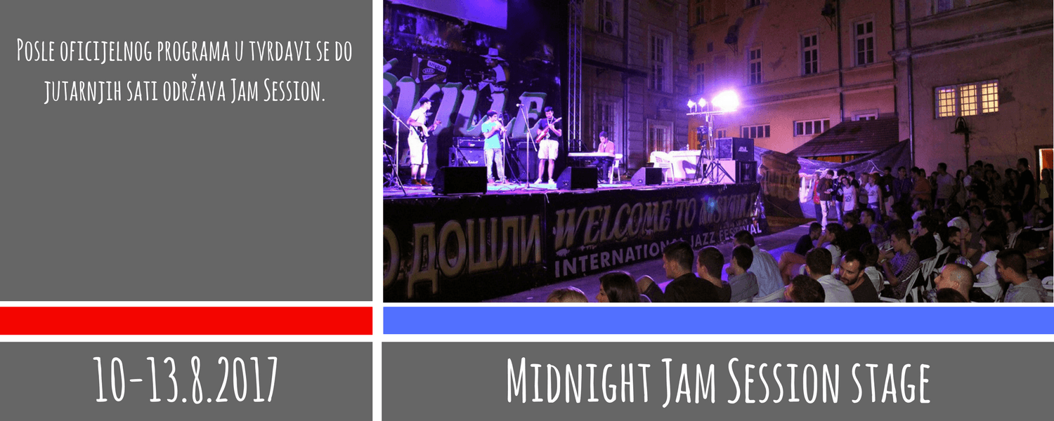 Midnight Jam Session stage - Nišville Jazz Festival 2017
