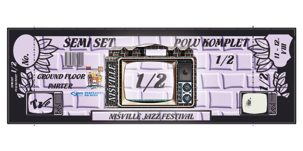 Half Pass Ticket - Nisville Jazz festival