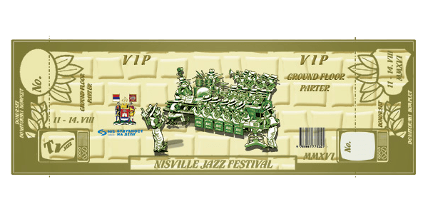 Vip Ticket - nisville Jazz Frestival