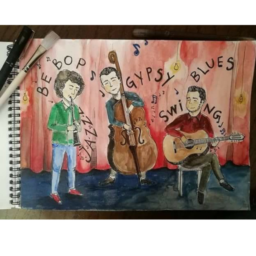 Gipsy jazz kvartet