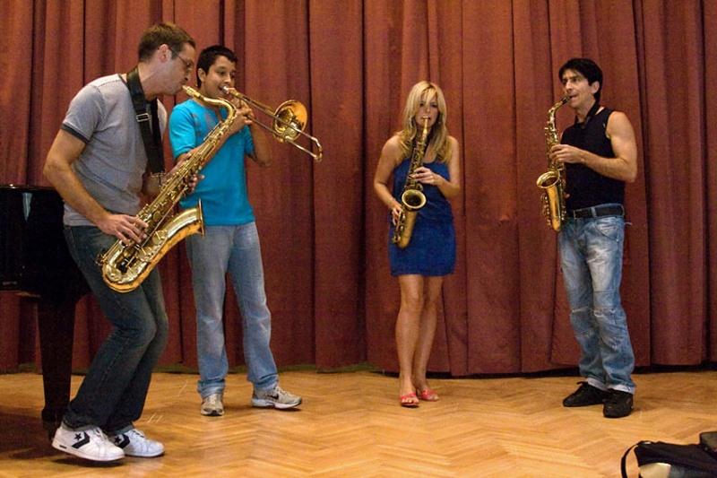 Nisville Jazz Festival Workshop - Candy Dulfer
