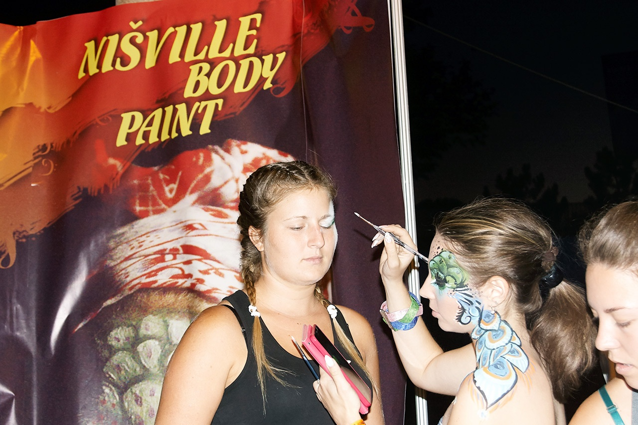 Paint your Face - Nišville Jazz Festival