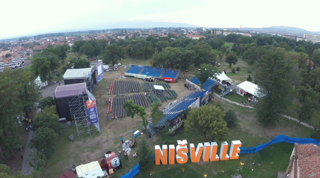 Earth and Sky Stage - Nisville Jazz Festival