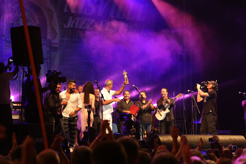Award Šaban Bajramović awarded to Gipsy Kings for fusion of jazz and other genres of music