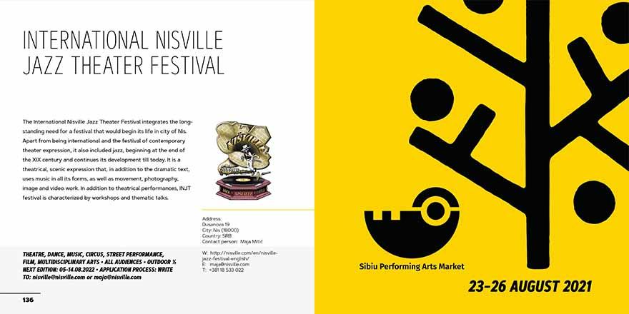 Nisville Jazz Festival - Sibiu Performing Arts Market 2021